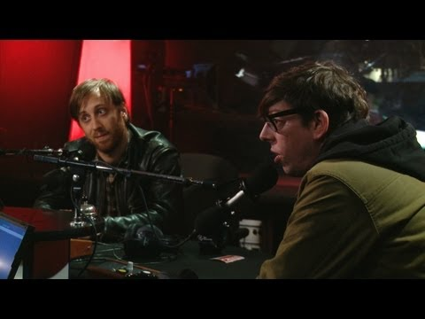 The Black Keys are not rock stars in Studio Q