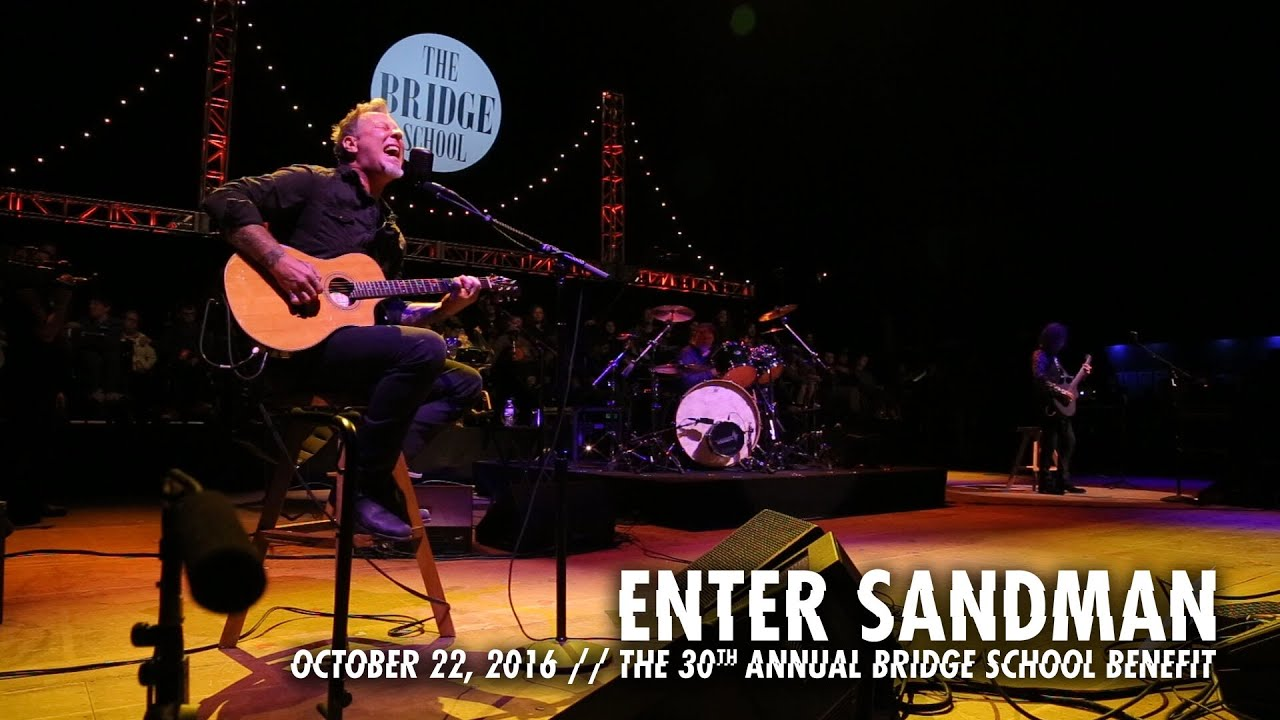 Metallica: Enter Sandman (MetOnTour - Bridge School Benefit - 2016)