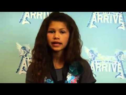 Zendaya Coleman Audition - Shake It Up