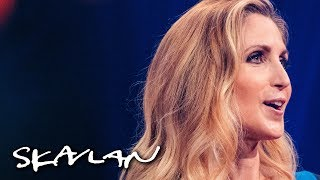 ? Feminists are angry man-hating lesbians | Ann Coulter interview | SVT/TV 2/Skavlan