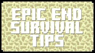 Minecraft: EPIC END SURVIVAL TIPS! (Minecraft Tips/Tricks)