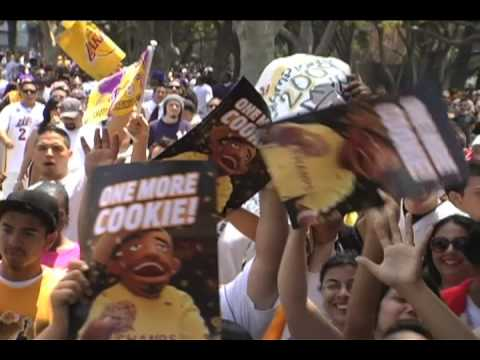 *Lakers Championship Parade*- Lil Wayne's 