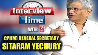 Interview Time With CPI(M) General Secretary Sitaram Yechury