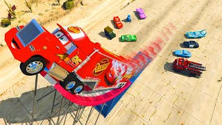 Disney Pixar Cars Mack Truck Lightning McQueen and Friends Videos for Kids Songs for Children