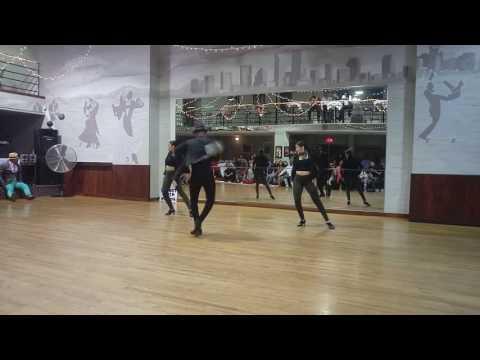 """""""Manicero"""" salsa show Jariel Garcia w/ Monique y Tanya"""
