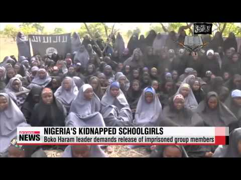 New video shows kidnapped Nigerian girls