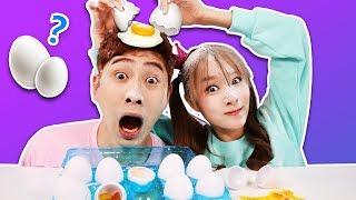 Kang i & Jini's [ Eggedon ] Board Game Random Battle ! - Kang i