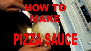 How to Make Creamy Garlic Sauce For Pizza (White Sauce)