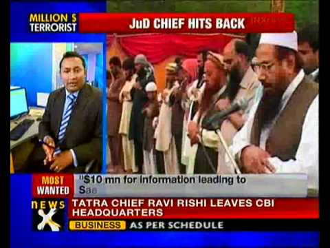 Hafiz Saeed hits back, says US is frustrated - NewsX