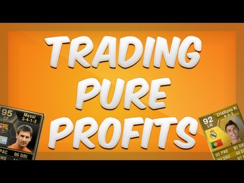 Fifa 13 Ultimate Team - Trading Pure Profits - Episode 1 - Trading Tips