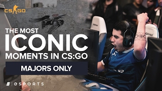 The Most ICONIC Moments in CS:GO Major History