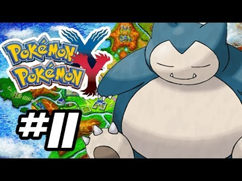 Pokemon X and Y Gameplay Walkthrough - Part 11 - POKECENTER PL