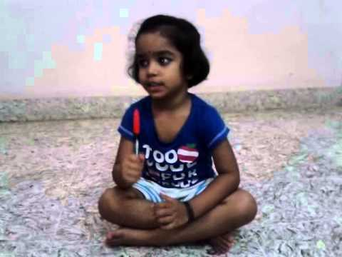 Nidhi Sings kolu Krishna Song video