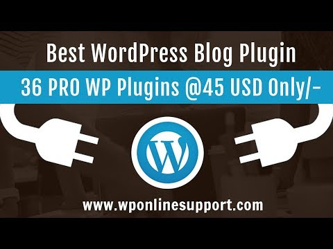 WP Blog and Widget