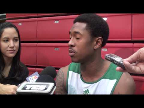 MarShon Brooks Happy as a Boston Celtic