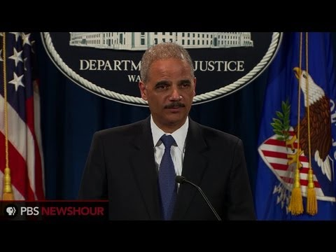 Watch Attorney General Eric Holder Address IRS Scandal, AP Probe
