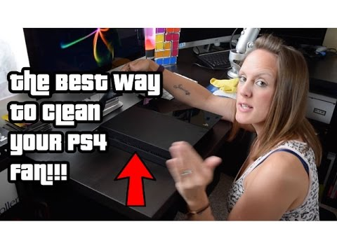 BEST Method to Clean a PS4 Fan: Running Loud FIX (TheGebs24)