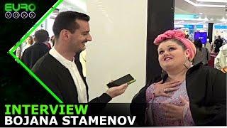 Bojana Stamenov interview!! April 2017 | #Belgrade #Eurovoxx