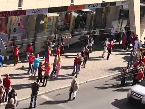 Ave Plaza & Latin Motion Flashmob 2014