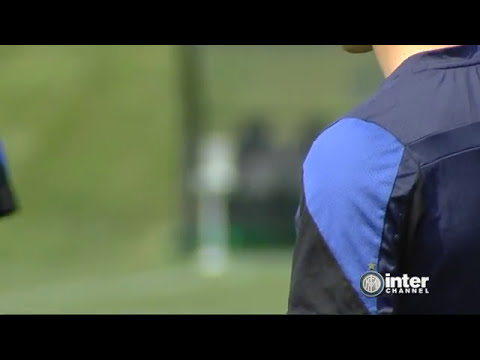 ALLENAMENTO INTER REAL AUDIO 12 04 2014