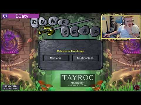 B0ATY DIES ON HCIM!! BEST RUNESCAPE TWITCH MOMENTS COMPILATION #186