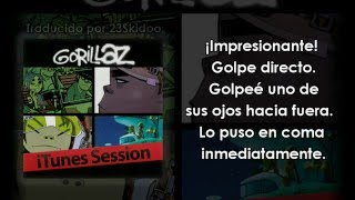 Gorillaz Interview with Murdoc and 2D - iTunes Session 1/3 (Sub. Español)