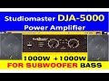 best-amplifier-for-two-1000watt-subwoofer-with-crossover-full-video