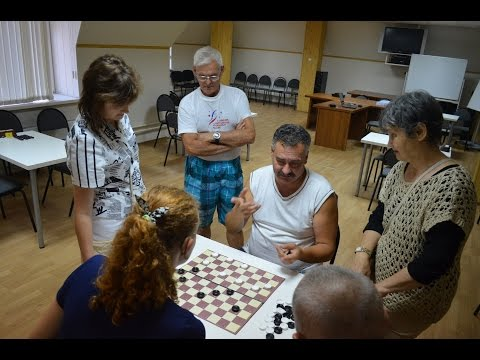 Zelenograd 2014. Training Deaf Draughts Events. Rounds 6,7, sport recreation, sauna, analyse