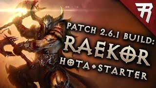 Diablo 3 2.6.5 Barbarian Build: Starter & Raekor GR124+ (Guide, Season 17)