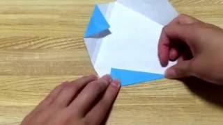 折り紙 ガラスの靴 折り方