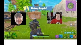 FIRST FORTNITE DUO WIN WITH FAZE ADAPT