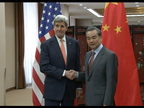 Chinese Foreign Minister, U.S. Secretary of State Hold Talks in Beijing