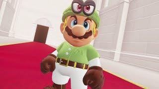 Link (Zelda) Costume in Super Mario Odyssey - Final Boss & Ending