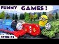 Thomas Friends Minions Funny Games Cars Play Doh Tom Moss Toy Train Tayo Game 꼬마버스 타요 mp3