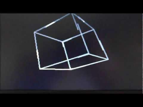 FPGA VGA NIOSII 3D CUBE