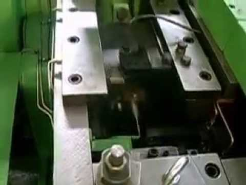 LEAD SWAGING MACHINE WORKING