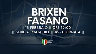 Serie A1M [18^]: Brixen - Fasano 40-26
