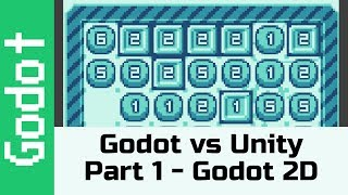 Godot vs Unity Part 1 - Godot in a 2D project