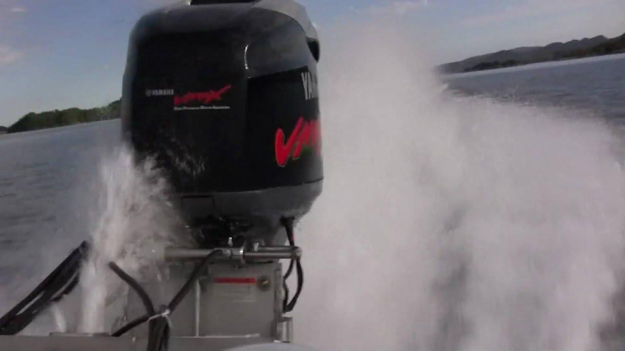 Tintorera threestepp 610 yamaha 200 hpdi youtube for Winterizing yamaha 300 outboard