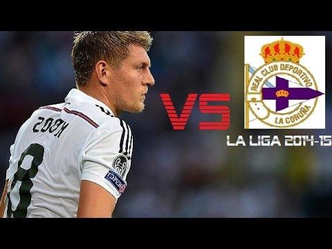 Toni Kroos vs Deportivo La Coruna | Deportivo vs Real Madrid 2-8 | La LIga 2014/15 (A)
