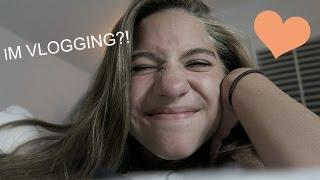 IM VLOGGING?! || Vlog day 1