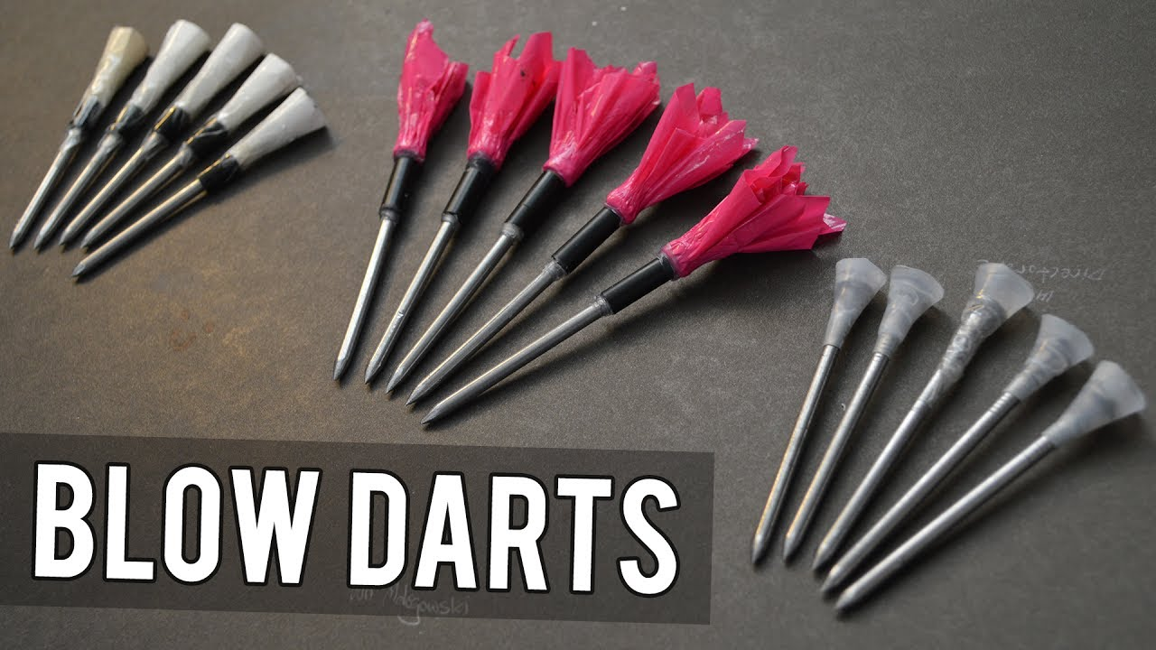 Make Blowgun/Airgun Darts