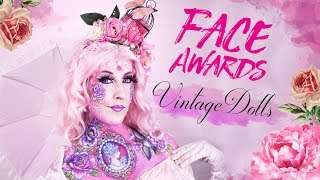 VINTAGE DOLLS || #FACEAWARDSGERMANY  || 2018 Challenge #1