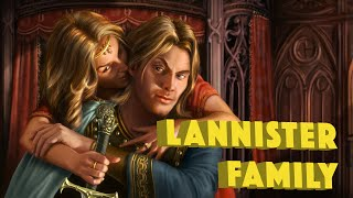 Lannister Family Tree - Game of Thrones
