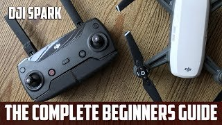 DJI Spark Beginners Guide to the CONTROLLER