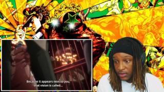 JoJo's Bizarre Adventure - Jotaro Kujo Vs Mohammed Avdol | His Stand Though | [REACTION]