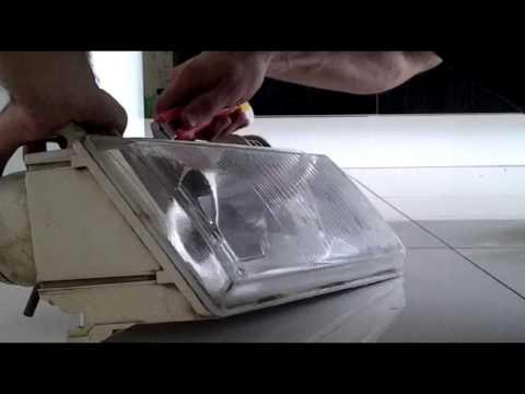 Как поменять стёкло на фаре Киржач на ваз 2110