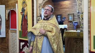 Как вписать Бога в свою картину мира... Проповедь отца Сергия от 12 июля 2020