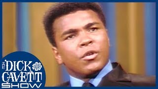 Muhammad Ali Gives His Stance On The Vietnam War | The Dick Cavett Show