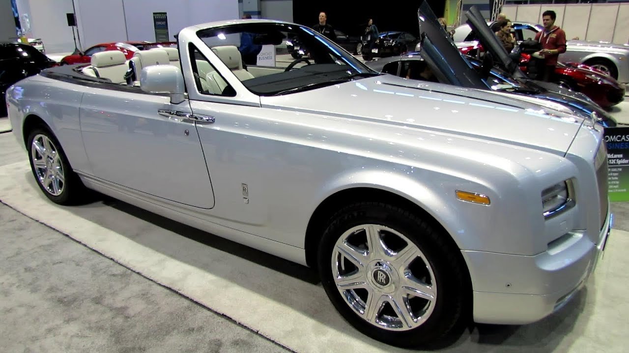 2014 rollsroyce phantom drophead coupe exterior and